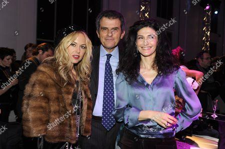 Rachel Zoe, Ferruccio Ferragamo and Ilaria Giusti