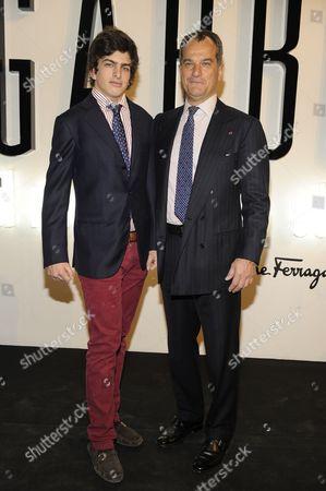 Edoardo Ferragamo and Leonardo Ferragamo