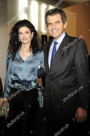 Ilaria Giusti and Ferruccio Ferragamo