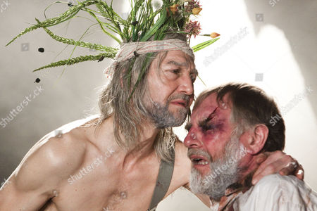 'King Lear' - Greg Hicks (King Lear) and Geoffrey Freshwater (Earl of Gloucester)