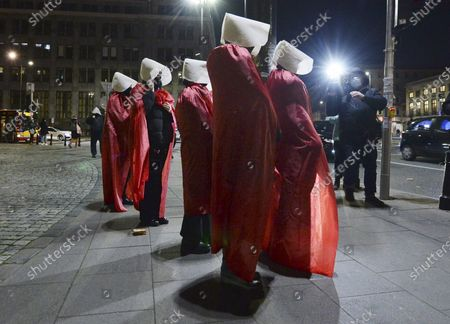 Editorial picture of Abortion Protest, Warsaw, Poland - 07 Dec 2020