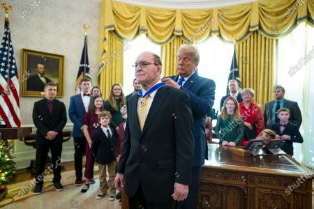 Editorial picture of Trump Presents the Medal of Freedom to Dan Gable, Washington, District of Columbia, USA - 07 Dec 2020
