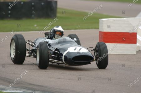 2005 Goodwood Revival Meeting Goodwood, West Sussex. 16th - 18th September 2005 Glover Trophy. Sid Hoole (Cooper-Climax T66), 1st Place. World Copyright: Jeff Bloxham/LAT Photographic Digital Image Only
