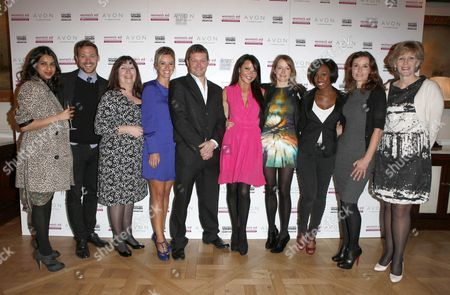 Ravinder Bhogal, Will Young, Nicola Harwin, Charlie Webster, Bill Ward, Lizzie Cundy, Kirsty Dillon, Beverley Knight, Tana Ramsey, and Anna Segatti
