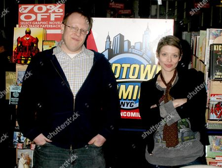 Amber Benson and Anton Strout