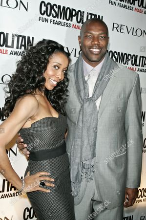Kita Williams and Terrell Owens