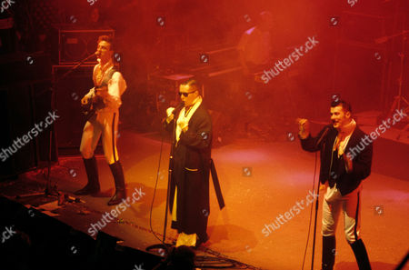 Frankie Goes To Hollywood - Mark O'Toole, Holly Johnson and Paul Rutherford