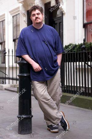 Comedian Phil Jupitus In Soho London.