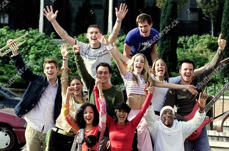 Students Of The Bbc's Fame Academy Who Will Be Competing For A Prize Worth A1.5million; Ashley House Malachi Cush Ainslie Henderson Naomi Roper Chris Manning Pippa Fulton Katie Lewis Nigel Wilson Camilla Beeput Marli Buck Lemar Obika.