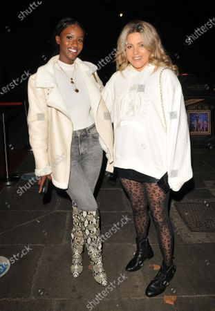 Stock Picture of Sarah Mulindwa and Olivia Cox