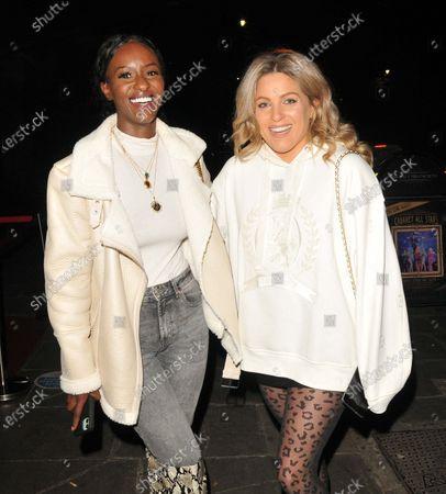 Sarah Mulindwa and Olivia Cox