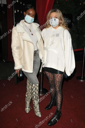 Stock Photo of Sarah Mulindwa and Olivia Cox