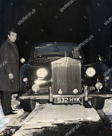 Gangster Eddie Richardson With His Rolls-royce. (edward Richardson)