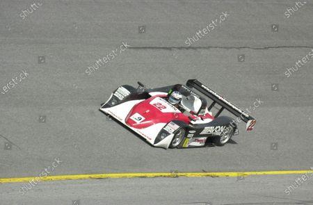 2001 Daytona Grand Am Finale, Daytona, Fla , USA  November 2001 Joseph Safina in the Archangel SRP II Nissan Lola. C: 2001 Douglas Phillips, USA  LAT Photographic