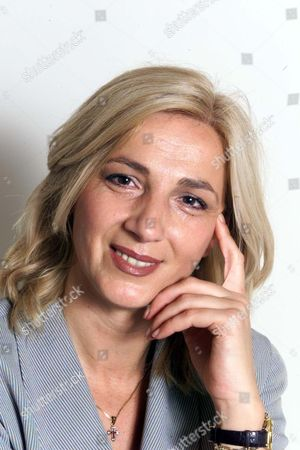 Spiritual Healer Seka Nikolic From The Hale Clinic London Who Treated Prince Andrew With Mail Reporter Deborah Collcutt.