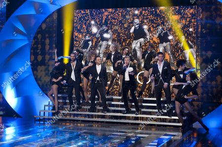 Boyzone, Shane Lynch, Mikey Graham, Ronan Keating, Keith Duffy.