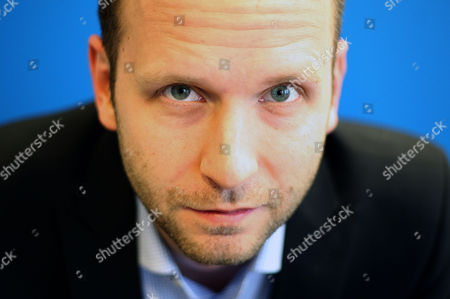 Editorial image of Thomas Gensemer, managing partner of Blue State Digital, at his offices in London, Britain - 22 Feb 2010