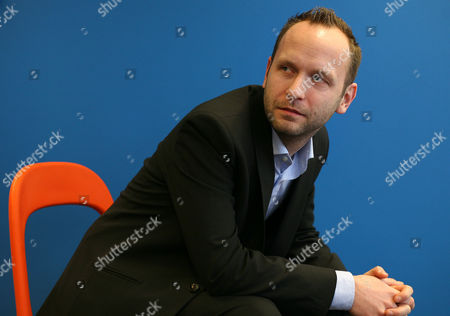 Editorial picture of Thomas Gensemer, managing partner of Blue State Digital, at his offices in London, Britain - 22 Feb 2010