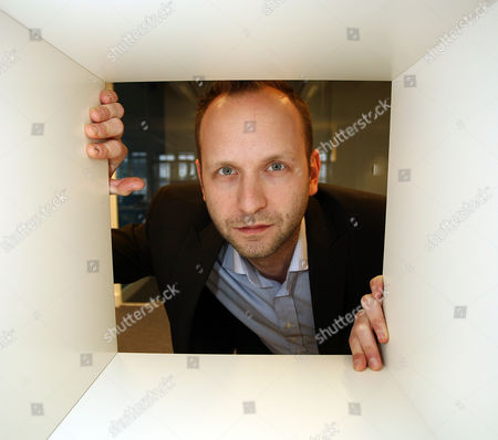 Editorial photo of Thomas Gensemer, managing partner of Blue State Digital, at his offices in London, Britain - 22 Feb 2010