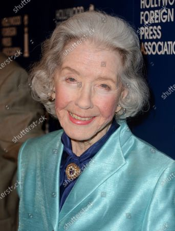 Marsha Hunt, one of the last living stars of Hollywood's Golden Age, arrives at the Hollywood Foreign Press Association Luncheon in Beverly Hills, Calif., on . A documentary of her life is airing on TCM on Dec. 11 along with seven of her films