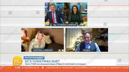 Piers Morgan, Susanna Reid, Gemma Collins and Darren Day