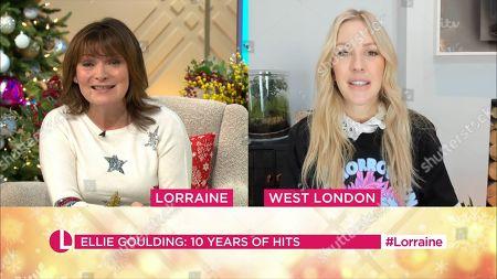 Lorraine Kelly and Ellie Goulding