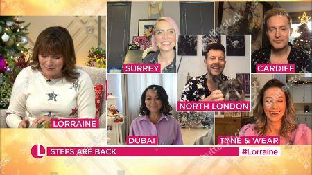 Editorial image of 'Lorraine' TV Show, London, UK - 08 Dec 2020