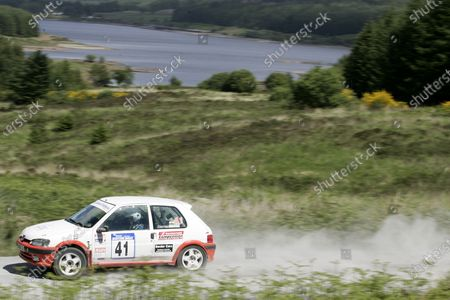 Stock Picture of James Gloster 2004 Pirelli British Rally Championship Scottish Rally 11-12th June 2004 World Copyright Jakob Ebrey/LAT Photographic