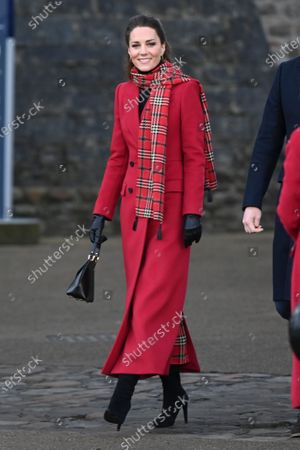 Editorial image of Prince William and Catherine Duchess of Cambridge visit Cardiff Castle, Wales, UK - 08 Dec 2020