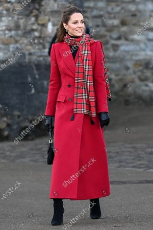 Editorial photo of Prince William and Catherine Duchess of Cambridge visit Cardiff Castle, Wales, UK - 08 Dec 2020