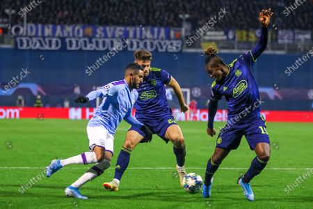 Editorial picture of Dinamo Zagreb vs Manchester City, UEFA Champions League, Group C,Football, Stadion Maksimir, Croatia, Zagreb, Croatia - 11 Dec 2019