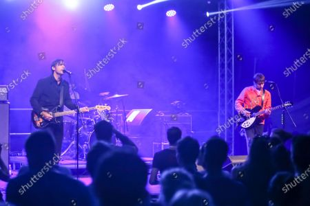 Swedish indie pop/rock band Peter Bjorn and John performs on the 14th INmusic festival located on the lake Jarun in Zagreb, Croatia.