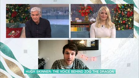 Phillip Schofield, Holly Willoughby and Hugh Skinner