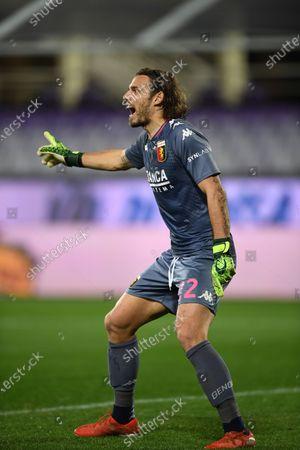 "Federico Marchetti  (Genoa)           during the Italian ""Serie A"" match between Fiorentina 1-1 Genoa  at  Artemio Franchi Stadium in Florence, Italy."