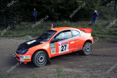 Stock Photo of 2007 British Rally Championship, Rally Yorkshire, 6th October 2007, Stefan Davis/Pat Cooper Ford Puma S1600,  World Copyright: Ebrey/LAT Photographic.