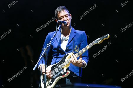 British-American indie rock band The Kills performs on the OTP World stage during the first day of 13th INmusic festival located on the lake Jarun in Zagreb, Croatia.