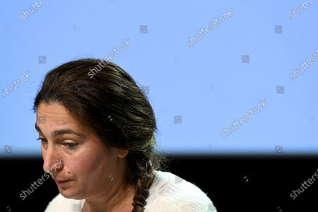 Flemish Minister of Environment, Energy, Tourism and Justice Zuhal Demir pictured during the presentation of the 'Local Energy Pact', in Boechout, Tuesday 08 December 2020.