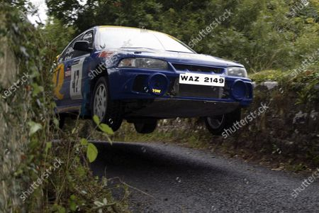 Stock Picture of Connor Byrne/Niall Byrne. Ulster Rally 2003, 5th - 6th September 2003. World Copyright Jakob Ebrey/LAT Photographic