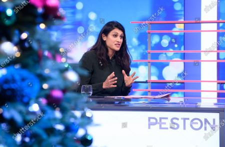 Editorial photo of 'Peston' TV show, Series 6, Episode 40, London, UK - 09 Dec 2020