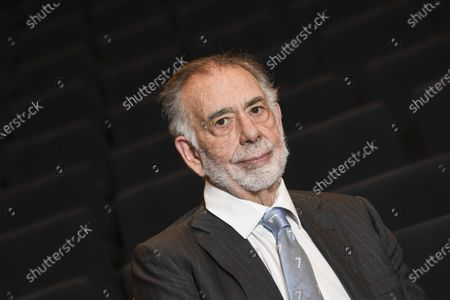 Stock Image of Francis Ford Coppola visits Finland from 8 to 12 December 2020 at the invitation of The Department of Film, Television and Scenography and the National Audiovisual Institute, in Helsinki, Finland, 08 December  2020.