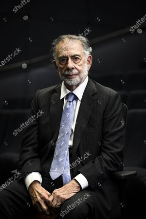 Stock Picture of Legendary American movie director Francis Ford Coppola poses during his visit in Helsinki, Finland, on December 8, 2020.