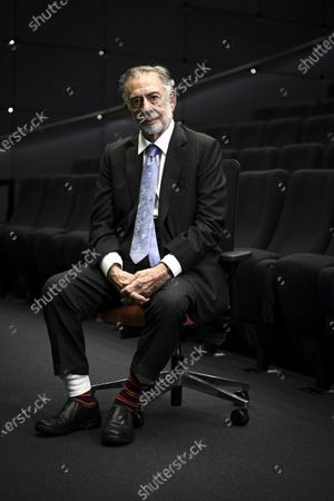 Stock Photo of Legendary American movie director Francis Ford Coppola poses during his visit in Helsinki, Finland, on December 8, 2020.
