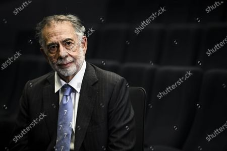 Legendary American movie director Francis Ford Coppola poses during his visit in Helsinki, Finland, on December 8, 2020.