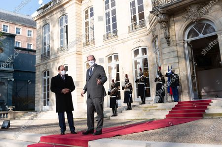 Abdel Fattah al-Sisi and Jean Castex.
