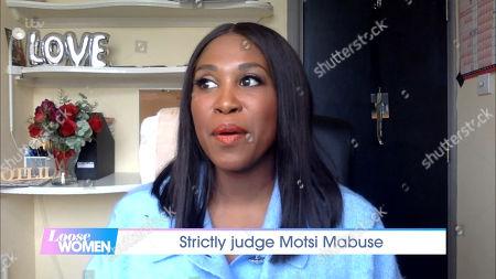 Stock Photo of Motsi Mabuse