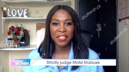 Stock Picture of Motsi Mabuse