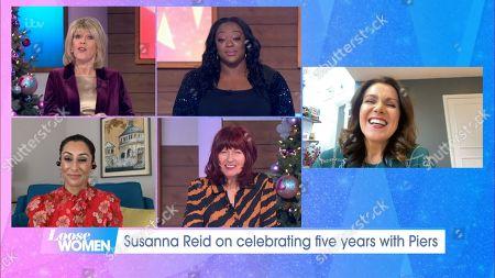 Editorial photo of 'Loose Women' TV Show, London, UK - 08 Dec 2020