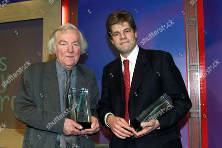 Keith Waterhouse Lifetime Achievement Award And Andrew Rawnsley 'columnist Of The Year 'at The 'what The Papers Say' Awards. Keith Waterhouse Died 4 September 2009.