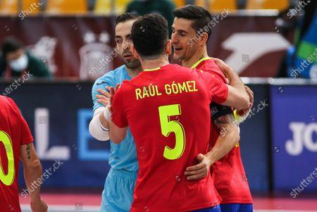 Editorial image of Futsal: EuroCup - Spain v Latvia, Las Rozas, Madrid - 08 Dec 2020