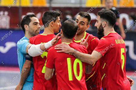 Editorial picture of Futsal: EuroCup - Spain v Latvia, Las Rozas, Madrid - 08 Dec 2020